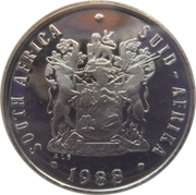 10 cents (SOUTH AFRICA - SUID-AFRIKA) -  avers