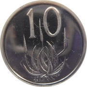10 cents (SOUTH AFRICA - SUID-AFRIKA) -  revers