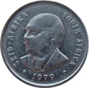 20 cents (Nicolaas J. Diederichs) -  avers