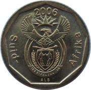 10 cents (en afrikaans - SUID AFRIKA) -  avers
