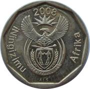 10 cents (en zoulou - ININGIZIMU AFRIKA) -  avers