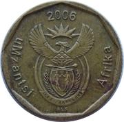 20 cents (en xhosa - UMZANTSI AFRICA) -  avers