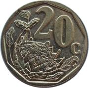 20 cents (en xhosa - UMZANTSI AFRICA) -  revers