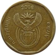 50 cents (en zoulou - ININGIZIMU AFRIKA) -  avers