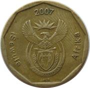 50 cents (en ndébélé - ISEWULA AFRIKA) -  avers