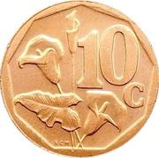 10 cents (en Swati - Ningizimu Afrika) -  revers