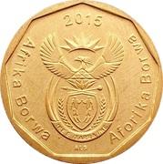 50 cents (Afrika Borwa - Aforika Borwa) -  avers