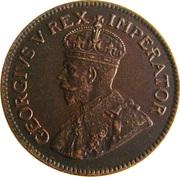 ¼ Penny - George V (¼ Penny ¼) – avers