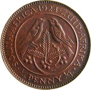 ¼ Penny - George V (¼ Penny ¼) – revers