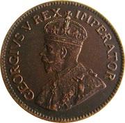 ¼ Penny  George V  KM#12.3  (1931-1936) – avers