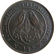 ¼ Penny  George V  KM#12.3  (1931-1936) – revers