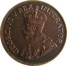 ½ Penny George V KM#13.2 (1928-1931) – avers
