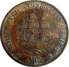 ½ Penny George V KM#13.3 (1931-1936) – revers
