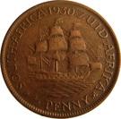 ½ Penny George V KM#13.2 (1928-1931) – revers
