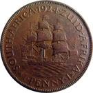1 Penny George V KM#14.1 (1923-1924) – revers