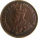 1 Penny George V KM#14.2 (1926-1930) – avers