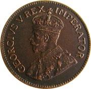 1 Penny George V KM#14.2 (1926-1930) -  avers