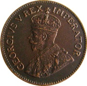 1 Penny George V KM#14.3 (1931-1936) -  avers