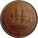 1 Penny George V KM#14.3 (1931-1936) – revers