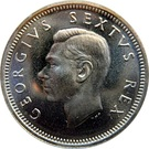 6 pence - George VI (SUID AFRIKA - SOUTH AFRICA) – avers