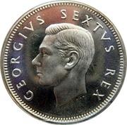 1 shilling - George VI (Type 2) -  avers