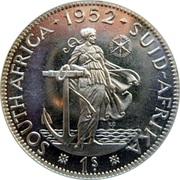 1 shilling - George VI (Type 2) -  revers