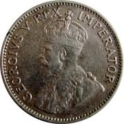 2½ shillings - George V (Type 1) – avers