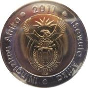 5 rand (banque centrale de l'Afrique du Sud) – avers