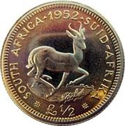 ½ Pound - George VI – revers