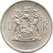 1 rand - T.E. Dönges (en Afrikaans - SUID AFRIKA) -  revers