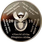2 Rand (Coupe du monde de football Afrique du Sud 2010) – avers