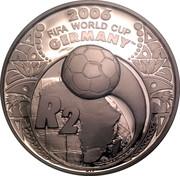 2 Rand (Coupe du monde de football Allemagne 2006) – revers