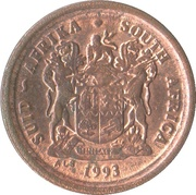 2 cents (SUID-AFRIKA - SOUTH AFRICA) -  avers