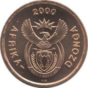 5 cents (en Tsonga- AFRIKA-DZONGA) -  avers