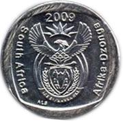 1 rand (en Anglais et Tsonga - AFRIKA DZONGA) -  avers