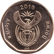 20 cents (en tswana - AFORIKA BORWA) -  avers
