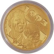 Protea Series - Nobel Prize Winners - FW de Klerk and NR Mandela – revers