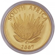 Protea Series - Nobel Prize Winners - FW de Klerk and NR Mandela – avers