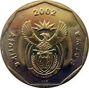 50 cents (en tswana - AFORIKA BORWA) -  avers