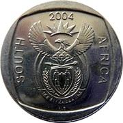 2 rand (10 ans de liberté) – avers