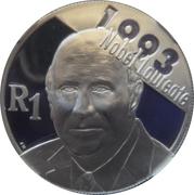 1 Rand (Frederik Willem De Klerk) – revers