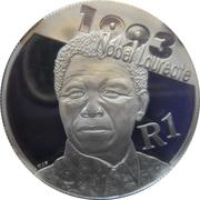 1 Rand (Nelson Mandela) – revers