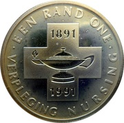 1 Rand (Nursing Centennial) – revers