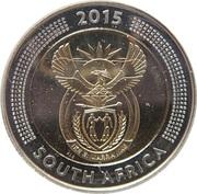 5 Rand (Bicentenaire de la monnaie de Griqua town) – avers