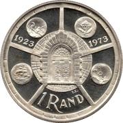 1 rand (Anniversaire de l'atelier de Prétoria) – revers