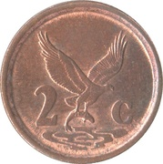 2 cents (SUID-AFRIKA - SOUTH AFRICA) -  revers