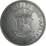 2½ shillings - Elizabeth II (1ere effigie) -  revers