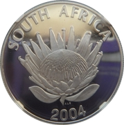 1 Rand (Anniversaire de la Démocratie) – avers
