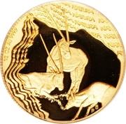 ½ Ounce (Oryx gazelle) – revers