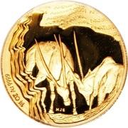 ¼ Ounce (Oryx gazelle) – revers